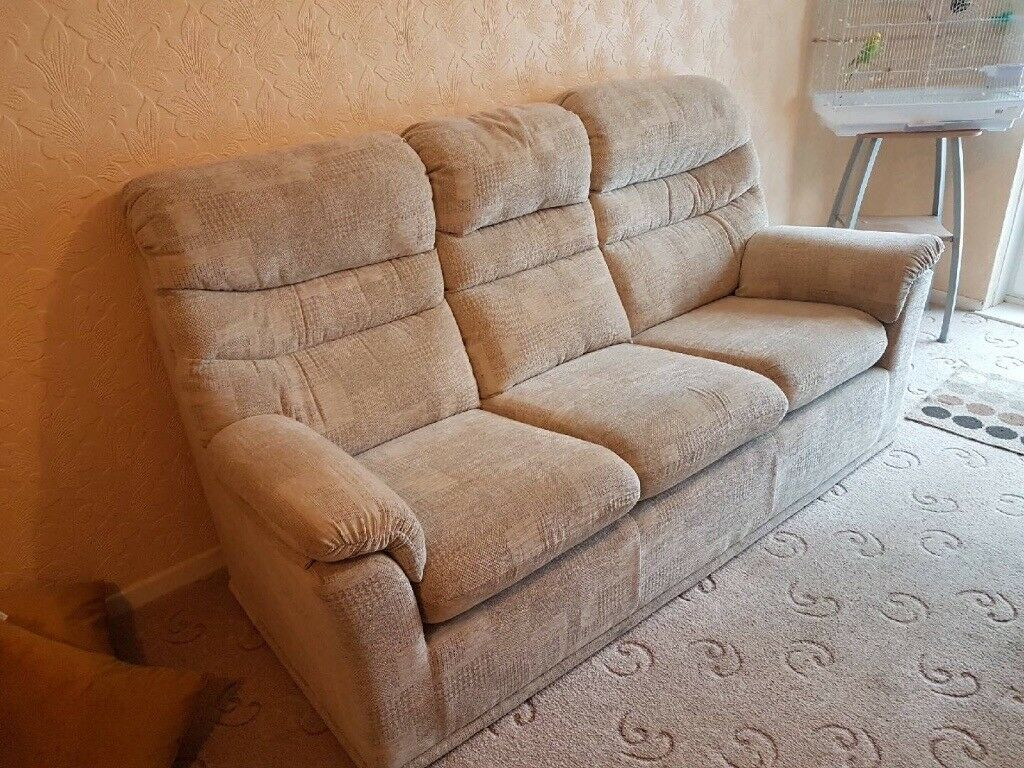 G Plan 3 Seater Sofa Amp Reclining Chair In Redruth