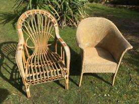 Wicker chairs. Only £25