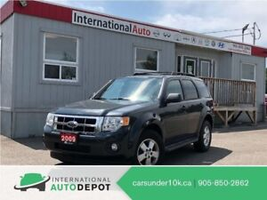 2009 Ford Escape XLT   FWD   LOW KMS   CRUISE   ALLOYS