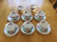 VINTAGE BONE CHINA TEA SET