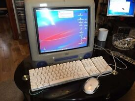 Vintage Apple iMac Fully working with plug lead and hard drive