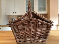 Brand new wicker basket