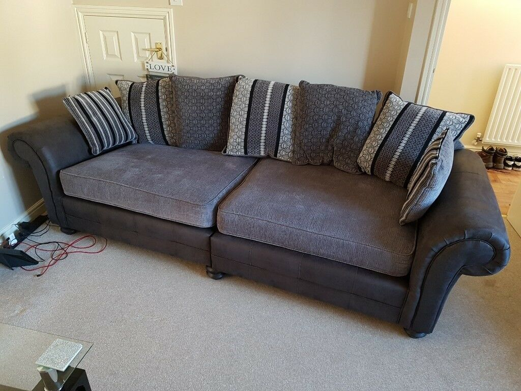 Scs Milan 4 Seater Sofa As New