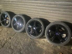 Genuine Ford alloy wheels