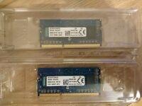 Kingston CBD16D3LFS1KBG/2G 2GB DDR3L-1600 - 2x modules