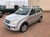 1 year mot Suzuki ignis 1.3 VVT GL only 70000 FSH 5 Door 55plate