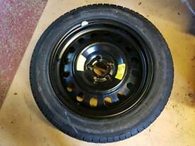 Spare wheel and Pirelli Tyre