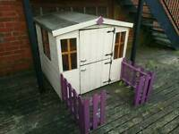 Wendy house (Wooden)