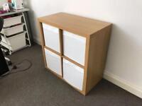 Ikea cube storage unit