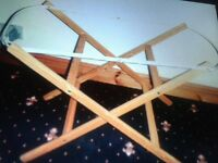 moses basket stands
