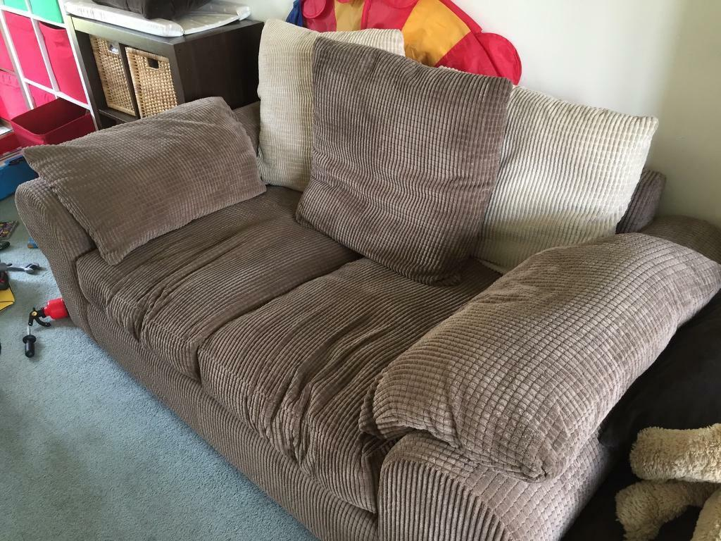 SCS Sofa & Footstool