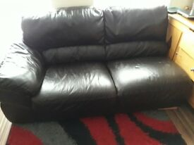 Leather sofa corner for sale