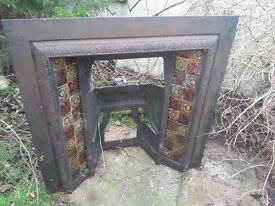 Old Fire Place Insert
