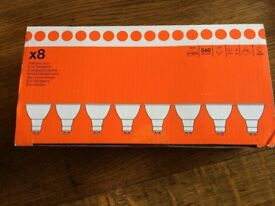 B & Q GU10 Halogen ECO Lightbulbs (8 pack)