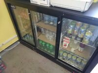 Glass 3 door display fridge - VGC perfect for new cafe or venture