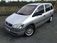 2001 51 VAUXHALL ZAFIRA 1.6 *7 SEATER*, 5 DOOR HATCHBACK - *FEB 2018 M.O.T* - PART EX TO CLEAR!