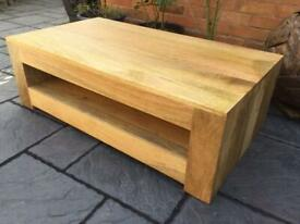 Mango Hardwood Coffee Table - Brand New