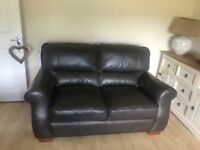 Harveys 3 and 2 seater leather sofa