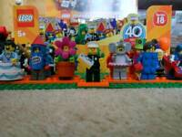 Lego Series 18 Minifigures 39 available