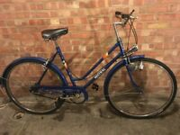 Classic Vintage Raleigh Mistral 3 Speed Ladies Bike
