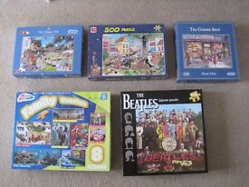 Jigsaws Puzzles - TOTAL OF 12 PUZZLES FOR £8