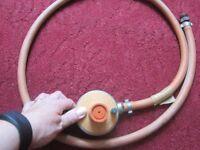 gas bottle regulator with hose