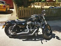 Harley-Davidson XL 1200 X FORTY EIGHT 16 plate + screaming eagle stage one kit & acccesories