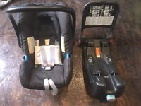 Baby Safe - Britax Infant Car Seat with Isofix Base Unit