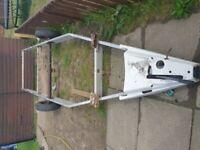 Caravan alluminium and stell chassis