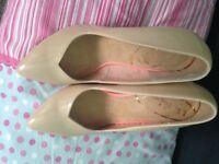 Schuh nude heels size 41