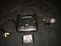 Sega Megadrive 2 with original controller, leads and game