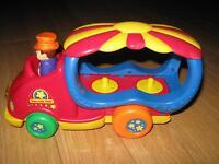 Autos interactives, Camion American Plastic Toys, Remorque Tonka