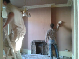 Plastering,painting and wallpaper stripping--start asap !!!!