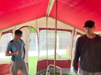 Trailer tent plus extras