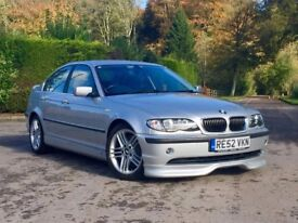 BMW 330d. Factory AC Schnitzer Body Kit. Same Owner Last 14 Yrs. No Modifications