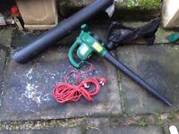 Electric garden blower/vac 1800w