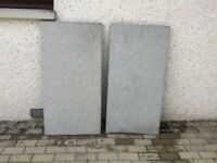 Granite Slabs polished one side nonslip on other .