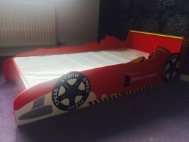 CAR BED/ TODDLER BED AS NEW WITH MATTRESS