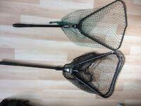 2 Fishing Nets folding heads