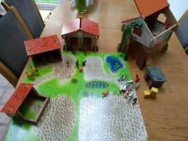 ELC wooden farm