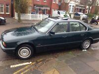 Left Hand Drive BMW 5 SERIES DIESEL UK REG