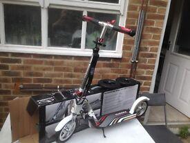 Hudora kick scooter 205 air + offroad wheels