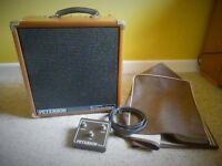 PETERSON Guitar Special P120G Amp (1990) / Mahogany Cab / Electro Voice Speaker