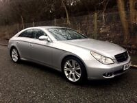 MERCEDES-BENZ CLS DIESEL -- 6 MONTHS WARRANTY -- Full Service History -- Immaculate Condition