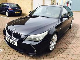 BMW 530d m sport black 05 plate, excellent condition for age. Selling cheap.