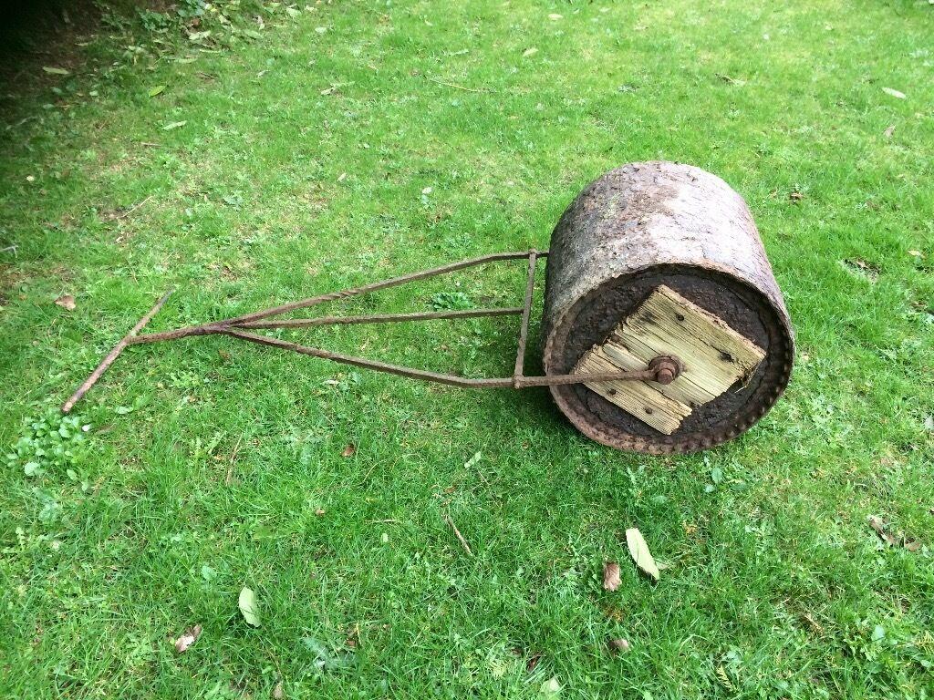 Old garden rollerin Saltash, CornwallGumtree - Very old garden roller in steel and concrete. Good garden fiture. Buyer collect