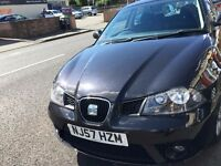 2007SEAT 1.4 & 2 LADY OWNER BEFOR, DARK Cloth FR Sport Seats, ,NEW MOT