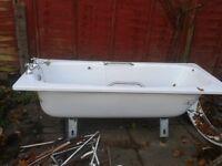 Bath Tub 1950's Steel