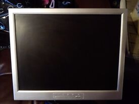 """15"""" LCD Monitor F159 with built in speakers"""