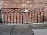 Wrought Iron Gates in reasonable condition